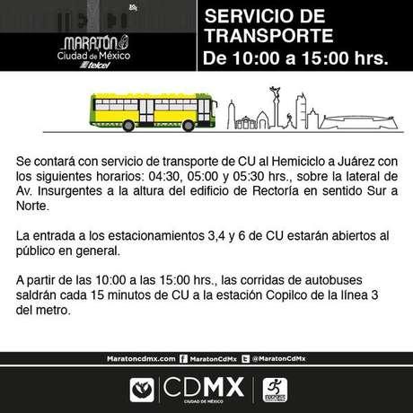 El Gobierno pondrá autobuses gratuitos desde las 4:30 am.