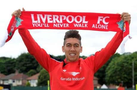 7 - FIRMINO - Atacante chamou a atenção dos Liverpool, que pagou 41 milhões de euros