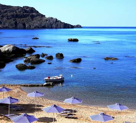 Plakias, em Creta, é a praia nudista mais ao sul da Europa