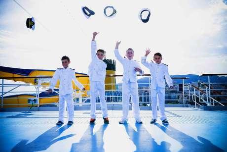 Crianças terão oportunidade de conhecer o trabalho do capitão em cruzeiros no Brasil