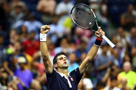 Este é nono ano consecutivo em que o tenista sérvio fica entre os quatro melhores do US Open