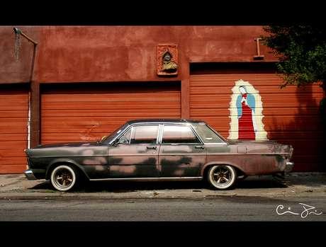 3.- Grafiti de Nuestra Señora de Guadalupe en Chicago.