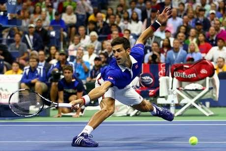 Djoko teve que se esforçar bastante para bater aquele que muitos consideram como o melhor tenista de todos os tempos