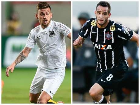 Meias do Santos e do Corinthians vivem grande fase em suas carreiras e são alguns da minoria de jogadores convocados que atuam no Brasil