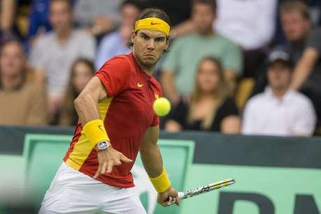 Rafael Nadal venceu com tranquilidade na Copa Davis