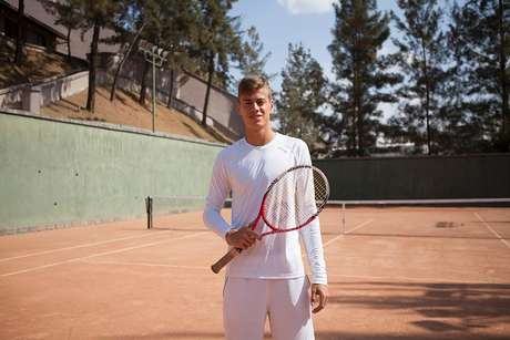 Pedro Bernardi, tenista do Cruzeiro