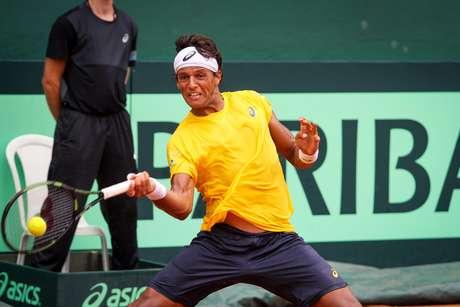 Feijão não foi páreo para o tênis sólido do croata de 18 anos