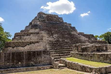 Chacchoben é um dos principais sítios arqueológicos maias