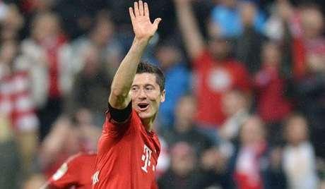 HOME - Bayern de Munique x Wolfsburg - Campeonato Alemão - Robert Lewandowski