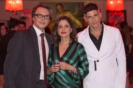 Fernando Eiras, Marieta Severo e Reynaldo Gianecchini