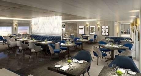 Iate da Crystal Cruises oferecerá novidades gastronômicas