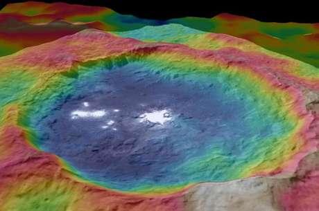 Imagem de planeta anão intriga Nasa
