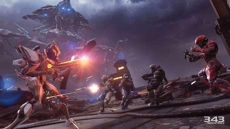 O Fireteam Osiris, uma das equipes principais da campanha de Halo 5