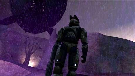 Master Chief, em sua versão do primeiro game da série