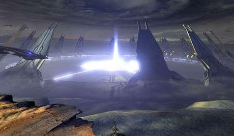 No terceiro game, Chief enfrenta os Covenants na Arca