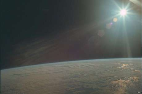 A tripulação da Apollo 11 ainda capturou o clima na Terra (Foto: Nasa/Project Apollo Archive)