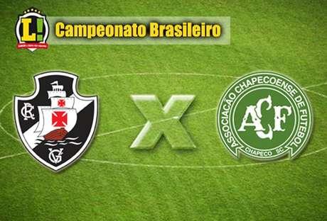 Resultado de imagem para Vasco x Chapecoense | Campeonato Brasileirão