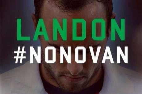 Esta fue la imagen que publicó León en su cuenta de Twitter.