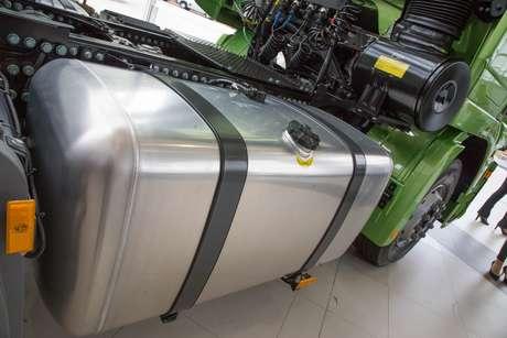 Novo tanque de combustível com capacidade para 1.080 litros