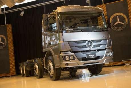 Novo Atego lançado nesta semana pela Mercedes-Benz