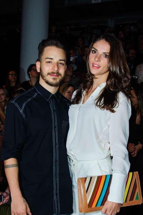 Junior Lima e Monica Benini
