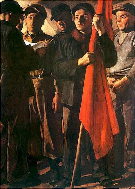A Segunda Internacional, uma organização de partidos socialistas, foi refundada em 1889
