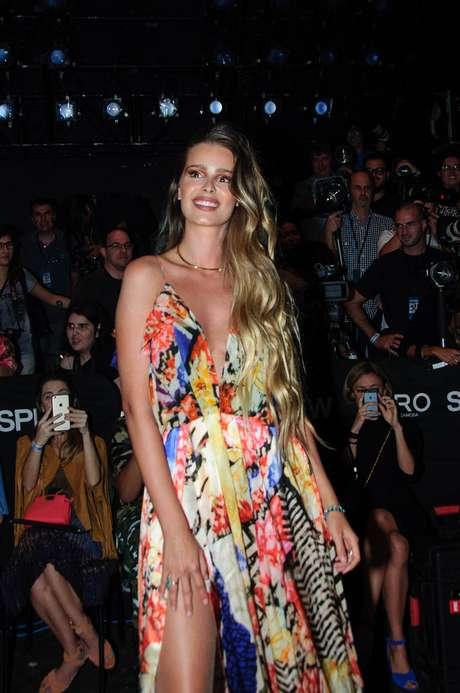 Sem inveja: modelo dá dica para ter cabelos saudáveis