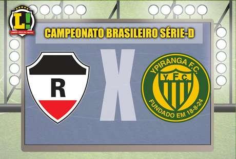 Apresentação River Atlético - Ypiranga Campeonato Brasileiro Série-D