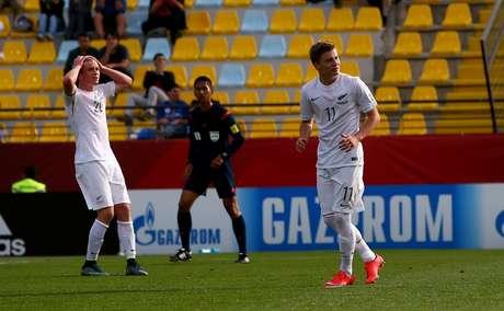 McGarry perdeu pênalti para a Nova Zelândia quando partida estava 0 a 0