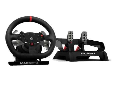 Os volantes podem aumentar a imersão nos jogos de corrida