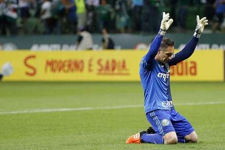 Prass foi decisivo na partida que garantiu a vaga do Palmeiras na final