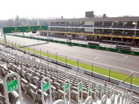 cambio de pases para gp m xico por cierre de grada 13 del ForPuerta 2 Autodromo Hermanos Rodriguez