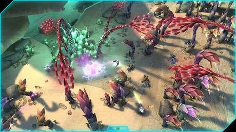 A história do game se passa entre os acontecimentos de Halo 3 e Halo 4