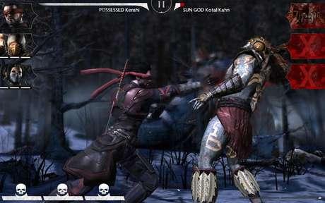 Nos smartphones, a jogabilidade de Mortal Kombat é diferente
