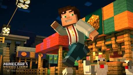Na trama, o protagonista Jesse precisa buscar a ajuda de aventureiros para salvar o mundo de Minecraft