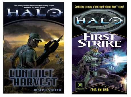 Quatro livros da série Halo foram parar na lista de mais vendidos do jornal The New York Times