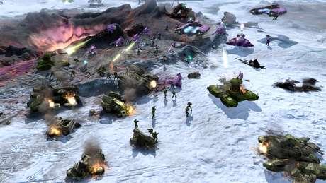 Originalmente, Halo seria um jogo de estratégia em tempo real, como foi Halo Wars