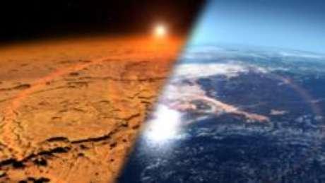 Cientistas tentam entender como Marte passou de planeta quente e úmido para gelado e seco