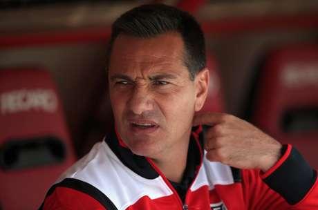 Doriva foi treinador do São Paulo por sete jogos