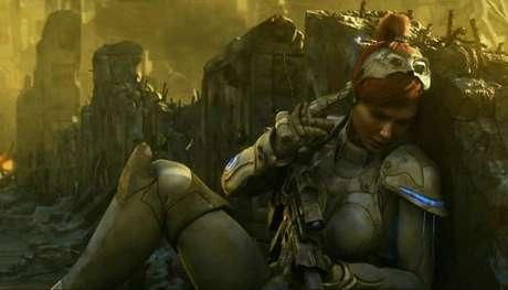 O amor da vida de Jim Raynor, protagonista do jogo, é deixado para trás quando os seres humanos estão fugindo de um planeta dominado por Zergs