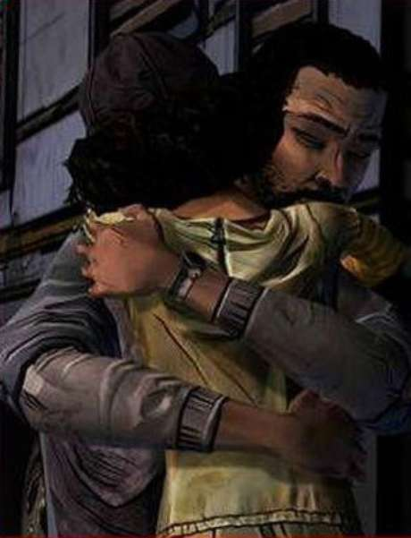 Uma das cenas mais lembradas é a despedida de Lee e Clementine