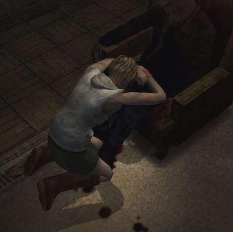Um dos momentos mais emocionantes da série é quando Heather chega em casa e encontra seu pai, Harry Manson, morto na cadeira