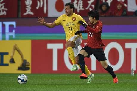 Ex-cruzeirense Ricardo Goulart foi eleito o craque do Campeonato Chinês