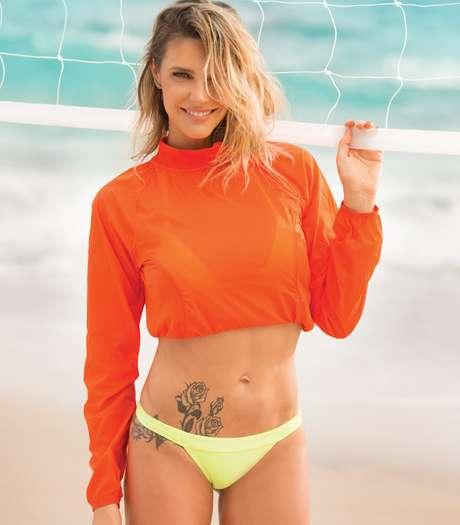 Fernanda Lima confessou que nunca foi muito adepta da musculação