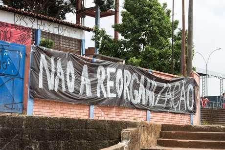 Estudantes não querem a reorganização escolar definida pelo governo paulista