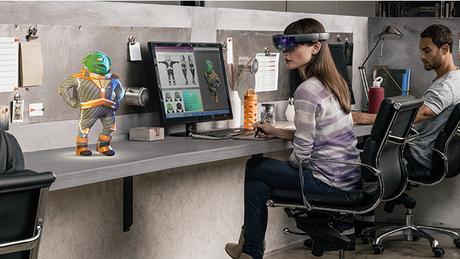 Em 2016, o HoloLens estará disponível para desenvolvedores que queiram aproveitar a tecnologia para criar algo que combine vida real e realidade virtual