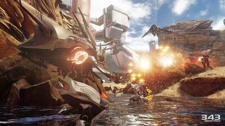 Os mapas do modo Warzone são até quatro vezes maiores do que os mais tradicionais de Halo