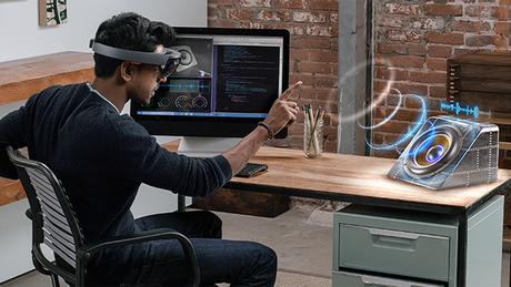 O intuito do HoloLens é levar os usuários a um mundo virtual, mas trazer a tecnologia para o ambiente real, possibilitando que o usuário visualize hologramas no lugar em que está