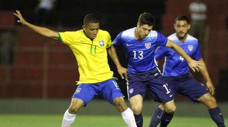 Gabriel Jesus, que vive excelente fase no Palmeiras e é alvo de grandes clubes da Europa, é uma das apostas da nova geração para conquistar o inédito ouro olímpico