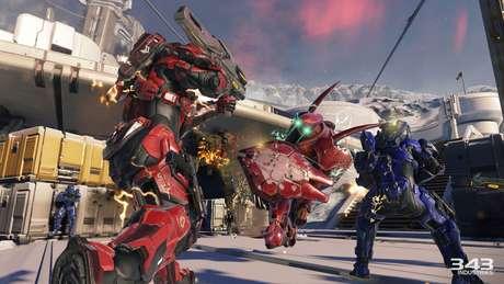 O novo modo online de Halo 5 reunirá 24 jogadores em um mapa enorme